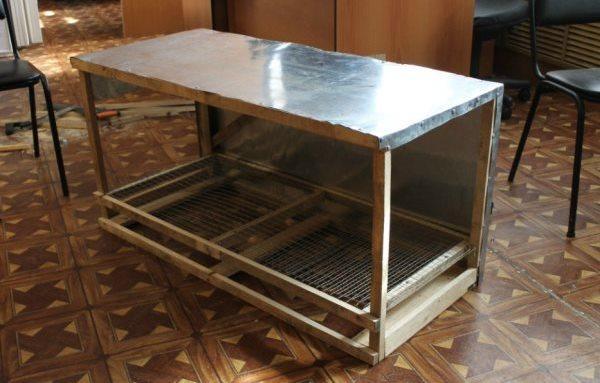 Поэтапное изготовление ящика для содержания индюшат