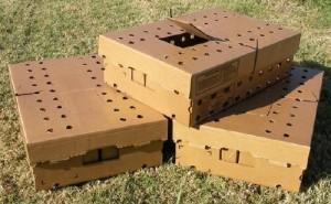 Ящики для перевозки индюшат
