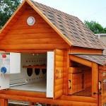 Уютный домик для 5 курочек