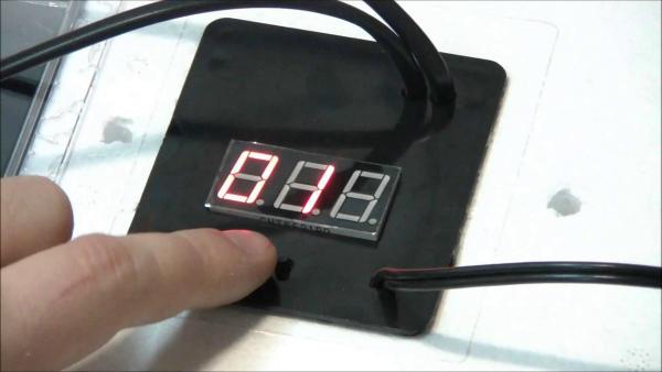 Блок настройки бытового инкубатора