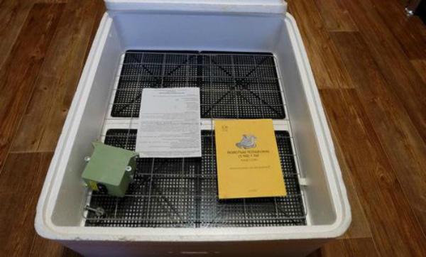Правила эксплуатации прибора для инкубации