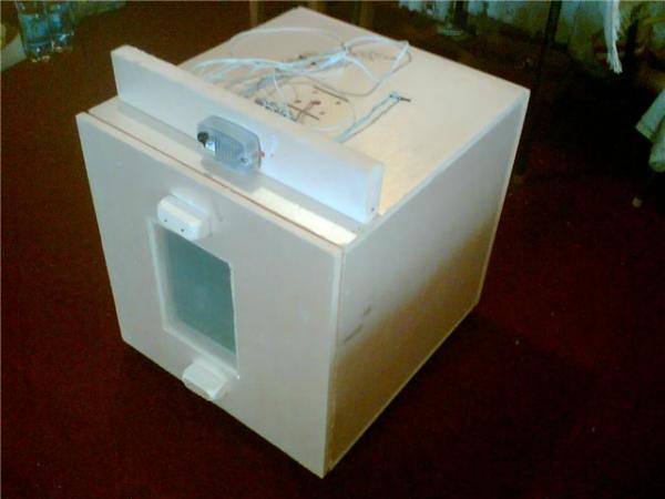 Инкубатор самодельный из пенопласта